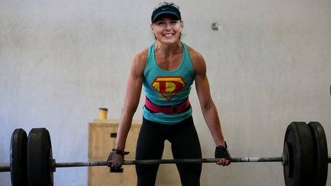 Maria Sharapova - Weightlifting