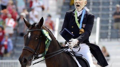Gregg Popovich - Equestrian Dressage