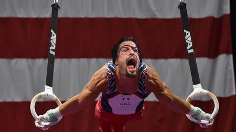 Roman Reigns - Gymnastics