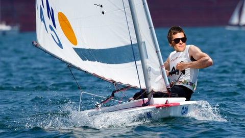 Tom Brady - Sailing