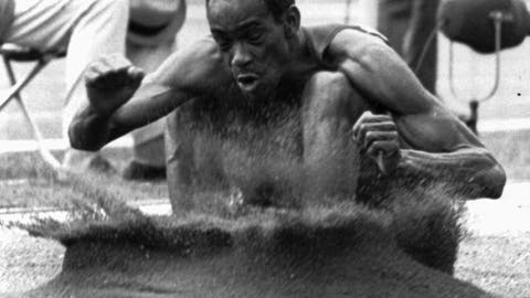 Bob Beamon's 29 feet and 2 1/2-inch long jump