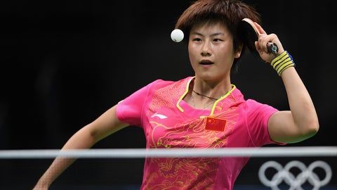 China's mountain of gold medals in table tennis