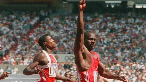 Ben Johnson vs. Carl Lewis