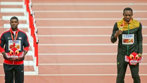 Justin Gatlin vs. Usain Bolt