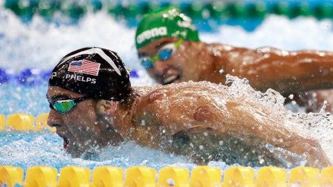 Michael Phelps vs. Chad le Clos