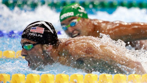 Michael Phelps vs. Chad le Clos