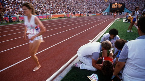 Zola Budd vs. Mary Decker