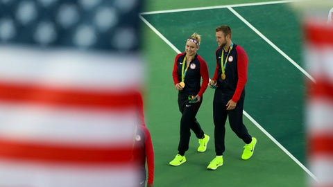 Bethanie Mattek-Sands and Jack Sock - tennis mixed doubles
