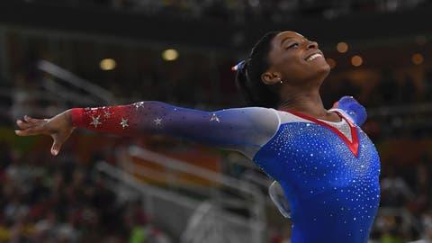 Simone Biles - floor exercise
