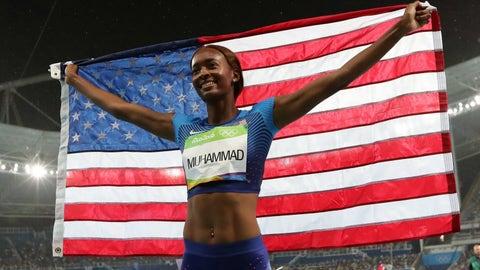 Dalilah Muhammad - 400-meter hurdles