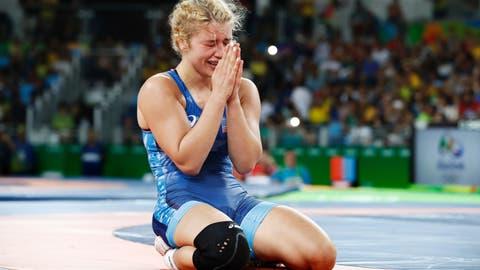 Helen Maroulis - women's 53-kg freestyle wrestling