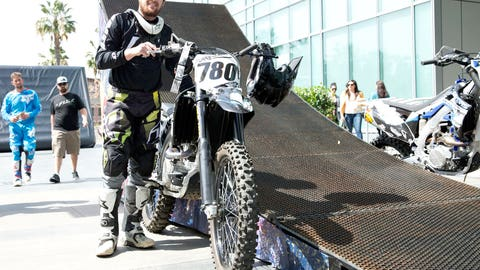 Metal Mulisha's Nick Dunne likes what he sees