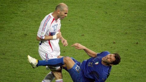 Zidane headbutts Materazzi