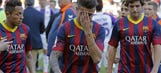 Barca's title defense takes huge blow at Valladolid