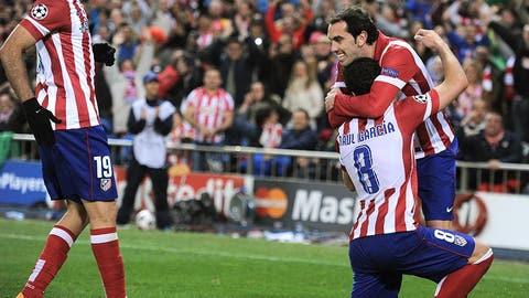 Atletico (Last week: 5)