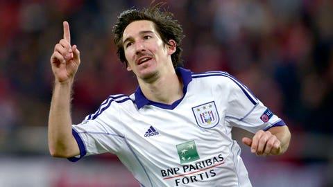 Sacha Kljestan, Anderlecht midfielder