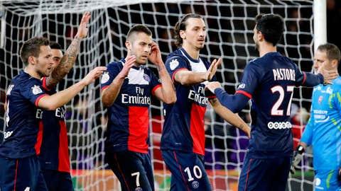 Paris Saint-Germain (Last week: 4)