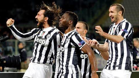 Juventus (Last week: 7)