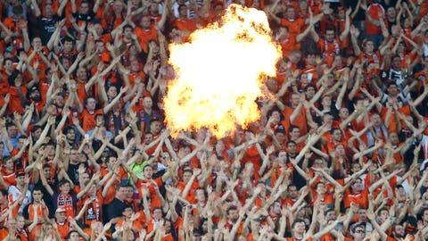 Flamethrowers!