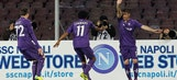 Fiorentina see off 10-man Napoli with late goal in Serie A
