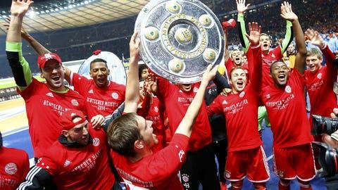Bayern Munich (Last week: First)