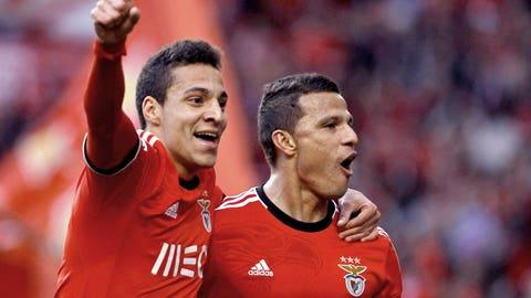Benfica (Last week: Not ranked)