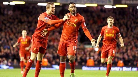 Liverpool (Last week: Eighth)
