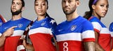 US men's soccer team unveils colorful away kit for World Cup