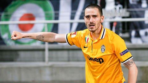Juventus (Last week: Seventh)