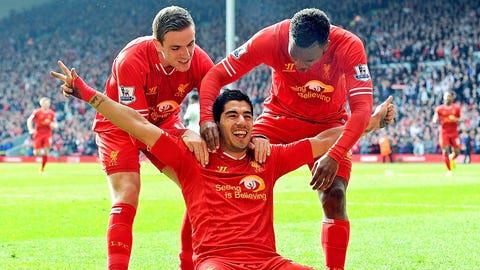 Liverpool (last week: Ninth)