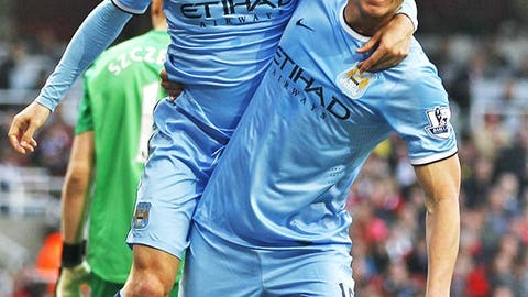 Manchester City (Last week: Eighth)
