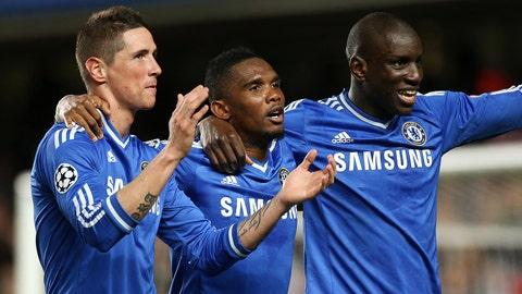 Chelsea (Last week: Fifth)