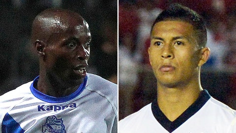 DaMarcus Beasley and Michael Orozco, Puebla