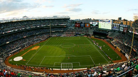 Yankee Stadium is (still) not a good place for soccer