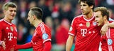 Bayern routs Kaiserslautern, sets up German Cup final vs. Dortmund