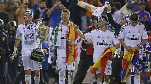 Real Madrid (Last week: Third)