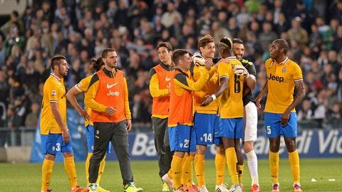 Juventus (Last week: Ninth)