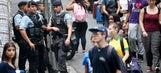 Rio de Janeiro's Copacabana hit by riots as World Cup looms
