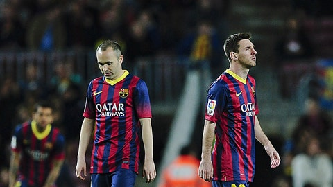 Barcelona (Last week: Sixth)