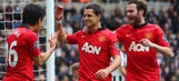 Mata helps Man United destroy Newcastle at St James' Park