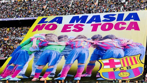 """La Masia, Don't Touch It"""