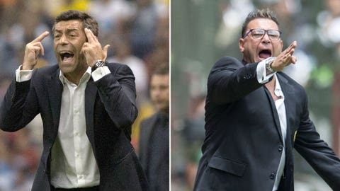 Pedro Caixinha and Antonio Mohamed will have to behave on the sidelines
