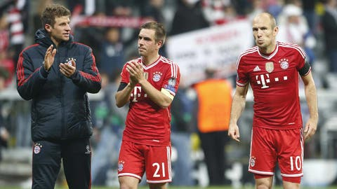 Bayern Munich (Last week: Second)