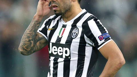 Juventus (Last week: Ninth)