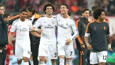 Real Madrid (Last week: First)