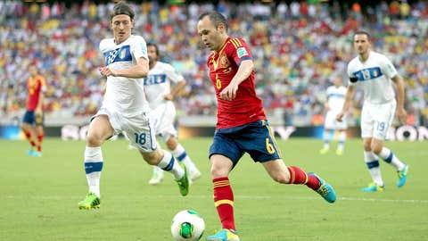 Andres Iniesta (Spain)