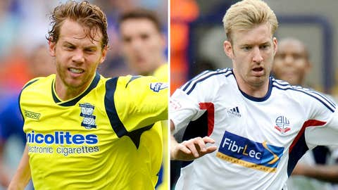 Jonathan Spector, Birmingham City and Tim Ream, Bolton Wanderers