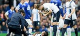Man City striker Aguero to miss Aston Villa game with groin injury