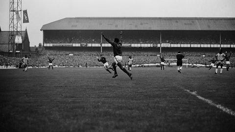 1966: Eusebio, Portugal, 9 goals