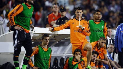Real Madrid (Last week: Second)
